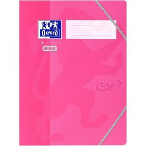 Oxford Mapa carton cu elastic pe colturi School Touch - roz 400103392