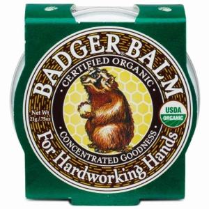 Badger Mini balsam pentru maini crapate si muncite, 21 g