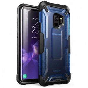 Supcase Unicorn Beetle Hybrid Clear -Samsung Galaxy S9 Frost/Blue