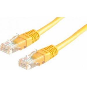 Value Cablu retea UTP Cat.6 1m Galben