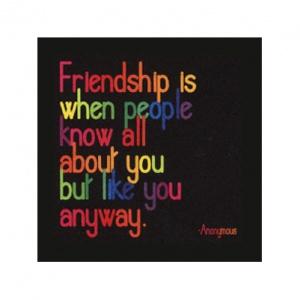 Quotable Cards Felicitare - Friendship