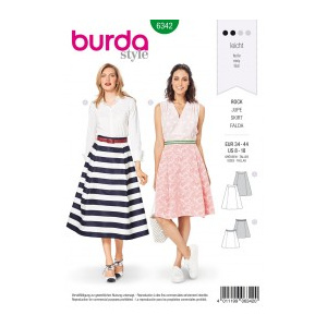 Burda Style Tipar Burda fuste 6342