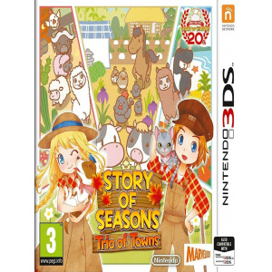 Xseed Story Of Seasons Trio Of Towns Nintendo 3ds