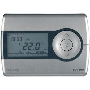 Gewiss gw14761 - easy timed thermostat - wall-mounting - titanium - chorus