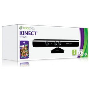 Microsoft Kinect Sensor cu Kinect Adventures XB360