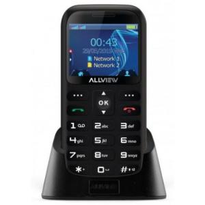 Allview Telefon Mobil D2 Senior (Negru)