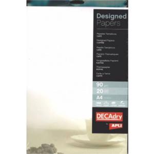 AGIPA Hartie A4 cu model DECAdry 12125 90g/mp 20 coli cafe