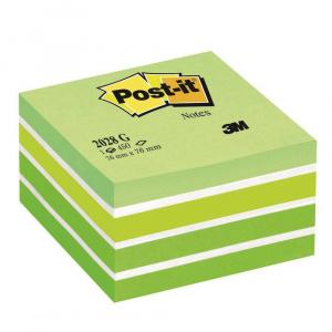 3M Post-it Aquarelle, 450 file, verde