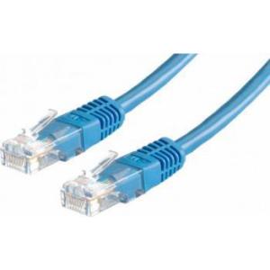 Value Cablu retea UTP Cat.6 0.5m Albastru