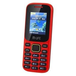 M-Life ML0586.1R Dual Sim Red