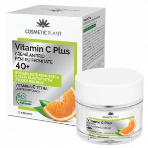 Cosmetic Plant Vitamin C Plus Crema de Fata Antirid pentru Fermitate 40+ 50ml