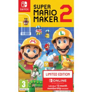 Nintendo Super Mario Maker 2 Limited Edition Switch