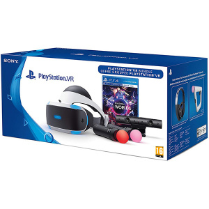 Sony Pachet PlayStation VR + Camera PS + Move Motion Controller Twin Pack + Move voucher VR Worlds