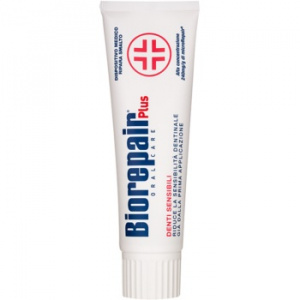 Biorepair Plus Sensitive pasta reparatorie a smaltulului 75 ml