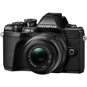 Olympus E-M10 Mark III black + EZ-M14-42 IIR black (V207071BE000)