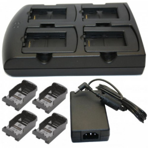 Zebra Cradle incarcare acumulatori MC3200  4 sloturi - SAC-MC32-400INT-01