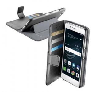 Cellular Line Husa Book Cover Cellularline pentru Huawei P9 Lite (Negru)