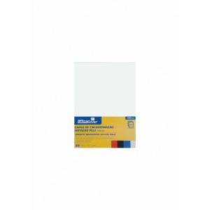 Office cover Coperta indosariere A4 carton imitatie piele LG-11 230g alb 100/top