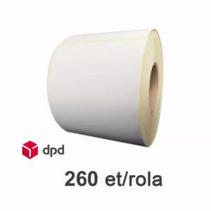 ZINTA Role etichete termice pentru AWB DPD curier, 260 et./rola - 100X150X260-TH-DPD