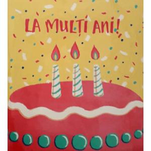 Mink Felicitare - La Multi Ani!