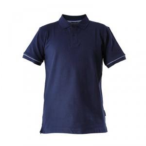 Lahti Pro Tricou bumbac cu guler si nasturi / albastru - L 5903755068095