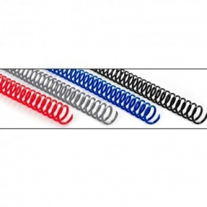 Ronic Spira continua plastic, 6mm, pas 4:1, 100 buc/cutie
