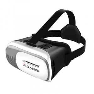 Esperanza Ochelari VR 3D, smartphone 3.5 -6 inch negru EMV300