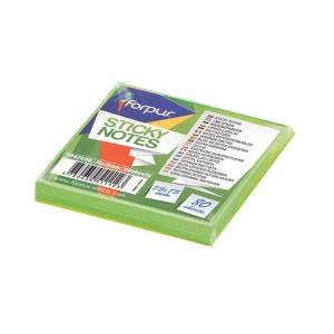 Forpus Notite adezive75x75mm 80 file verde