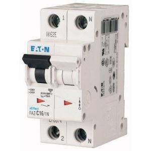 Eaton Siguranta automata FAZ6-C0.5/1N 0.5A 1P+N