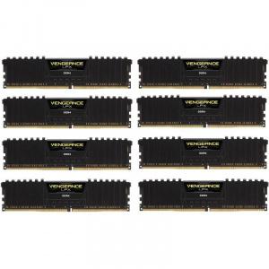 Corsair VENGEANCE® LPX 128GB (8 x 16GB) DDR4 DRAM 3800MHz C19 Memory Kit - Black CMK128GX4M8X3800C19