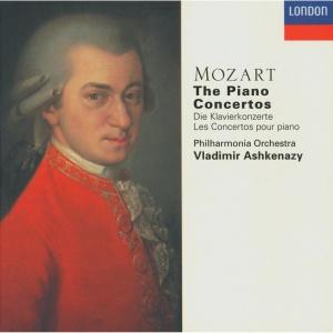 Vladimir Ashkenazy Vladimir Ashkenazy-Mozart Piano Concert-Wolfgang Amadeus Mozart-10CD