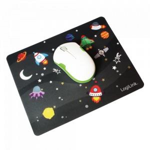 LogiLink Glimmer mouspad, Little Planet design  ID0148