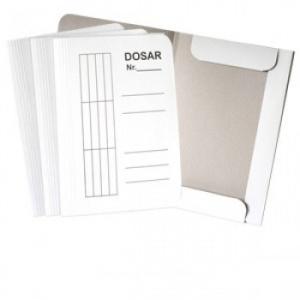 RTC Dosar plic standard, alb, 100 bucati/set DL302R