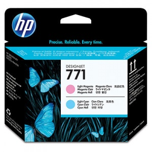 HP 771 Light Magenta/Light Cyan Designjet Printhead (CE019A)