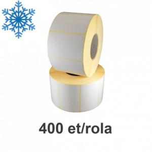 ZINTA Role etichete termice 50x120mm, pentru congelate, 400 et./rola - 50X120X400-TH-DF