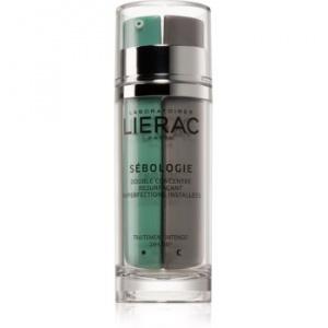 Lierac Sébologie concentrat recuperator în două faze impotriva imperfectiunilor pielii 2 x 15 ml