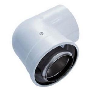 Tecnogas Cot coaxial 90 grade 80/125 condensatie
