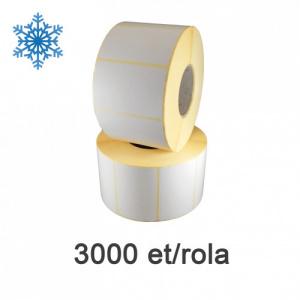 ZINTA Role etichete termice 85x45mm, Top Thermal, pentru congelate, 3000 et./rola - 85X45X3000-TTH-DF