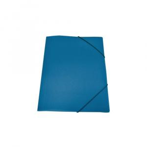 Skag Mapa plastic, A4, inchidere cu elastic, 212427 bleumarin
