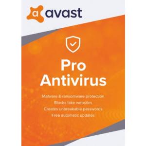 Avast Pro Antivirus - 1 utilizator
