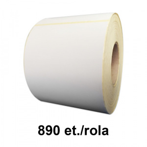 ZINTA Role etichete termice 100x165mm, 890 et./rola - 100X165X890-TH