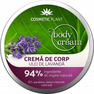 Cosmetic Plant Body Crema  cu Ulei de Lavanda 200ml