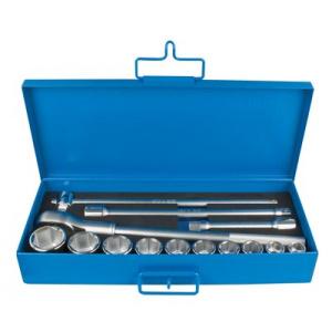 Unior Trusa capete chei tubulare 3/4 in cutie metalica - 197MB2 14 - 3/4 600954