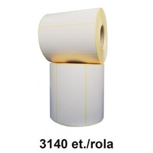ZINTA Role etichete semilucioase 104x45mm, 3140 et./rola - 104X45X3140-SGP