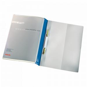 Esselte Dosar cu sina Panorama, plastic, albastru