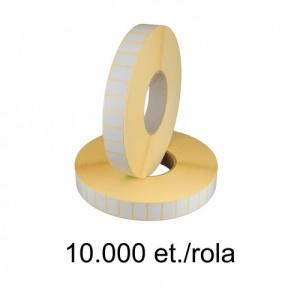 ZINTA Role etichete semilucioase 23X8mm, 10.000 et./rola - 23X8X10000-SGP