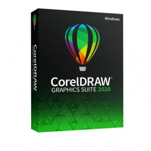 Corel DRAW Graphics Suite 2020, Windows, licenta electronica