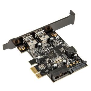 SilverStone Adaptor Low Profile PCIe x1 (gen 2.0) - 4x USB 3.0 (SST-EC04-E)