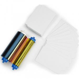 Zebra Set Ribon + Card ZC10L, YMCO, Card. 400, 105999-10L