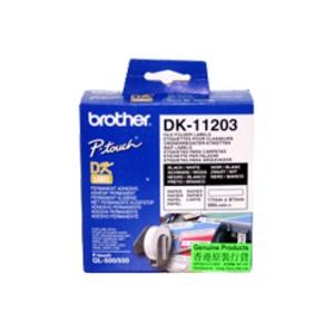 Brother DK 11203 File folder label